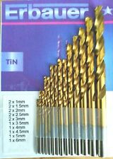Erbauer replacement drill bits 6mm 1mm