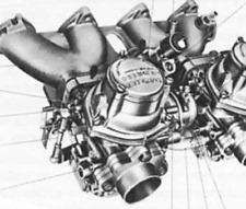 Agujas bmw 525 528 2500 2800 3.0 e3 e9 e12 Solex Zenith inat 35//40 carburador