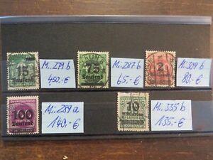Deutsches Reich Inflation hoher Wert siehe Bilder