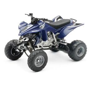 NEW Ray 1:12 Yamaha YFZ 450 Toy Model Quad ATV Quadcross off Road Blue Kids