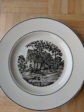 "1978 New Paltz, New York 300th Anniversary 10"" Porcelain Plate-Hasbrouck House"