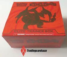 ♦Pokémon♦ Coffret ANGLAIS : Elite Trainer Box XY Mega Charizard Y (Dracaufeu)