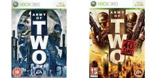 army of two & army of two the 40th day    xbox 360  pal
