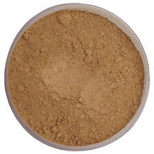 Mineral Foundation Makeup SUNNY SAFFRON OLIVE Mediterranean/Asian Cover Acne