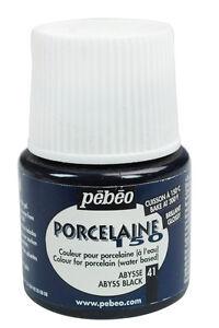 Pebeo PORCELAINE 150 Permanent Porcelain Ceramic China Paint 45ml