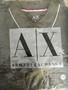 ARMANI EXCHANGE  Polohemd  Poloshirt    Gr. M  khaki