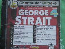 George Strait #4 ~ Chartbuster Karaoke ~ 90258R ~ Cowboys Like Us ~ Cd+G