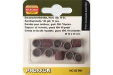 Proxxon 28981 Tubes Abrasifs P150 - Sanding Bands 150 grit 10pcs
