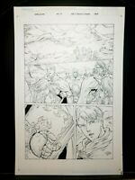 Warlands Issue #5 Page 04 Original Art Work by Pat Lee Dreamwave Productions!