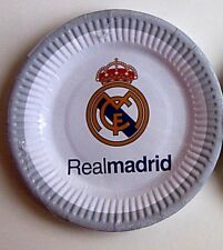 Real Madrid Club Soccer Birthday Party supplies x186 items Pack *Free Shipping*