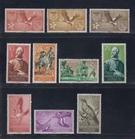 SAHARA (ESPAÑA) - AÑO 1958 NUEVO COMPLETO MLH SPAIN - EDIFIL 146/55