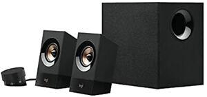 Logitech Z533 2.1 Multimedia Speaker System with Subwoofer 120 Watts Peak Power