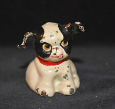 Vintage Hubley Cast Iron Metal Toy Dog Figurine Paperweight Miniature