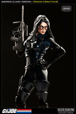 Baroness GI-Joe Premium Format Figure Scale 1/4 Sideshow Blue Classic Version