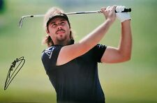 victor dubuisson signed 12x8 golf open pro golfer