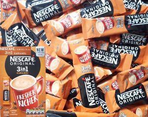 10pcs Nescafe 3in1 Original Caramel Individual Instant Coffee Sachets New Recipe