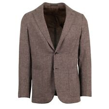 NWT CARUSO Brown Cashmere Blend Two Button Sport Coat 48/38 R Drop 8