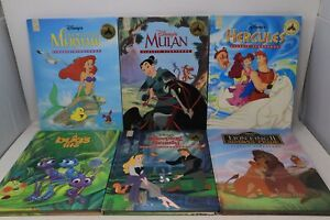 Lot of 6 Disney Mouse Works Classic Storybook Books -  Hardcover