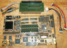 FIC Mainboard PAC-2003 + PCU Socket 7 +RAM Computer Motherboard PC Hauptplatine
