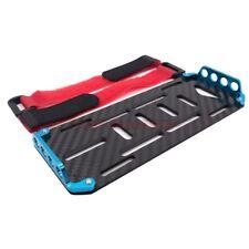 1/10 RC Rock Crawler AXIAL SCX10 Carbon Fibre Battery Plate Holder Set Blue