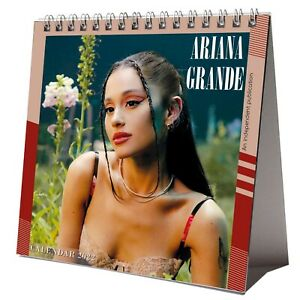 Ariana Grande 2022 Desktop Calendar NEW Desk 12 Months Pretty Woman