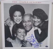 "EARLY! ""The Staple Singers"" Mavis Staple Album Hand Signed PAAS COA"