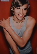 ASHTON KUTCHER - A3 Poster (ca. 42 x 28 cm) - Clippings Fan Sammlung NEU
