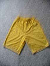 ALLESON ~S~ ADULT EXTREME MESH ATHLETIC SHORTS -YELLOW NWOT