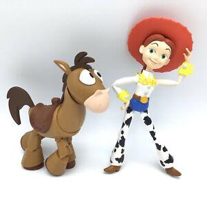 "Pixar Toy Story Bullseye and Jessie We Horse Moving Legs Figure Mattel Disney 6"""