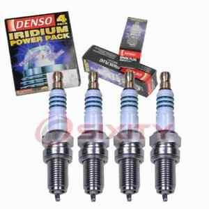 4 pc Denso Iridium Power Spark Plugs for 2014-2017 Fiat 500L 1.4L L4 ky