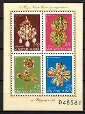 Hungary - 1973 Stamp day - Mi. Bl. 100 MNH