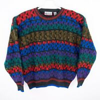 Vintage City Streets Sweater Multi Color Cosby 90s Hip Hop Fresh Prince Mens L