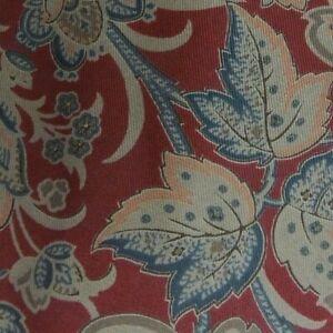 Vintage Red Beige MOLTENI Silk Tie