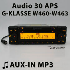 Mercedes Audio 30 APS AUX-IN W460 bis W463 Navigationssystem G-Klasse Radio Navi