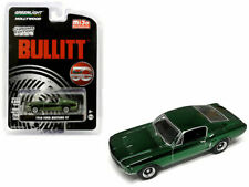 BULLITT 1968 Ford Mustang - CHROME Edition *** Greenlight  1:64 NEU