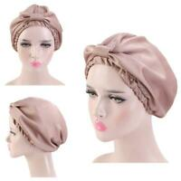 Female Sleeping Hat Silk Hat For Head And Hair Elastic Strip At Night Loss Caps