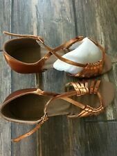 Very Fine Dance Sport Shoe Size 8 for Ballroom, Latin Dance