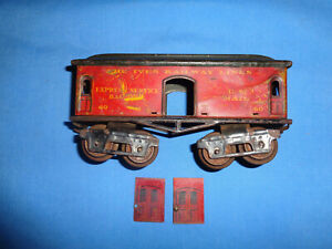 IVES #60 Express Service Baggage/Mail Car