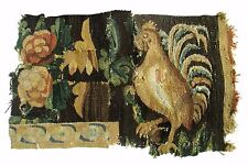 An Antique Tapestry Fragment with Rooster