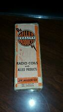 Vintage JW Miller Radio Coils NOS part# 6333 Freq. 15,750CPS. Use Horiz.OSC.