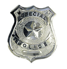 Special Police Metal Badge Halloween Costume Dress Accessory Bb52 New