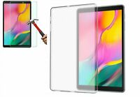 TPU Silicone Back for Galaxy Tab A 10.1 Inch SM-T510 & Glass Screen Protector
