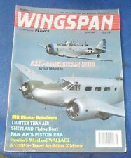 WINGSPAN MAGAZINE JULY 1993 - ALL AMERICAN DUO