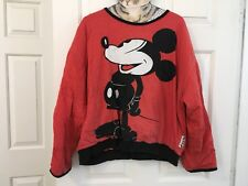 Vintage 80s 90s Mickey And Company Pull Over Reversible Sweatshirt Indie Disney