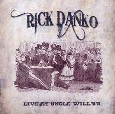 Rick Danko Live At Uncle Willy's CD NEW SEALED The Band