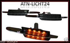 2x SMD LED Seitenblinker Blinker BMW E39 Bj. 96-03 Schwarz Smoke Klarglas Chrom