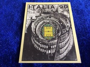 Rare Panini Italia 90 World Cup Football Sticker Official Poster #3 Pick/choose