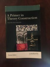 A Primer in Theory Construction by Reynolds and Laureate (Book, Other)