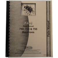 New Fits Ford 4500 Backhoe Parts Manual