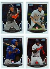 2013 Bowman Chrome SLEEVED 23-Card Lot (NO DUPS): STARS & ROOKIES (see list)